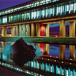 SFU in the night