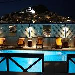  swimming pool with chora view