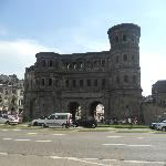 View of the Porta Nigra from the hotel