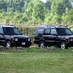 Land Rover touring vehicles
