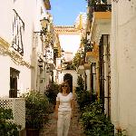 Located down a beautiful street in Old Town Marbella!