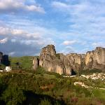This photo was taken from the lobby area looking toward Meteora
