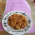 jambalaya (with chicken and sausage)