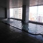 beautiful view of the spa on the top floor
