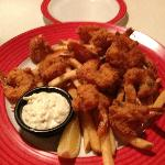Friday's shrimp, yummy!!!