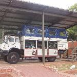 This overland holiday bus used unwitting tourists as cover for weapons smuggling to help the ANC
