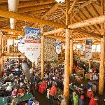  Inside Lodge of the Ten Peaks