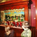 Marionette theatre at the entrance