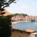  View from Room 14 over the Port of Collioure