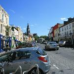 Clifden main street.