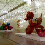 Jeff Koon's exhibit