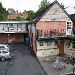 view of Inn and car park