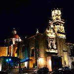 Guadalupe Sanctuary by night