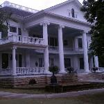 Front view of the home