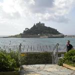 St Micheal's mount nearby