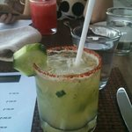 my fave drink of the trip:  Cucumber Margarita