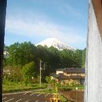  morning view on mount fuji