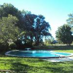 The pool at the house