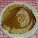  KOA pancake breakfast,  they also had sausage for additional $.