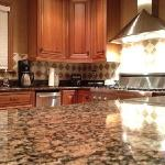 this was the kitchen in our beautiful rental house on Seabrook Island.
