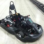 The karts, capable of speeds up to 40 mph!