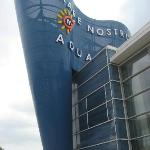 Entrance to the aquarium
