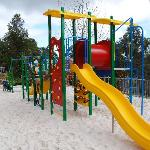  Clean, safe childrens playground