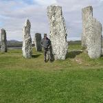  Standing Stones Callanish, the reason for the visit.