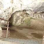 Entrance to Niaux Cave