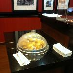 complimentary cookies at front desk (self serve)