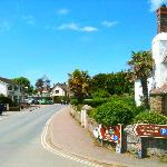 Croyde Village when the sun was out !