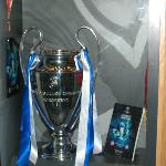 Champions League Trophy ( to be viewed in the Chelsea FC Museum)