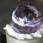  Blown Glass in Ravens colors