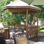 Gazebo at A Lil' Bit of Eden