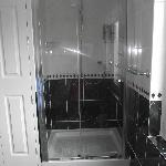 Massive shower and immaculately clean