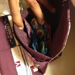  wallet full of condoms!!!