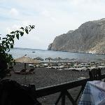  taverna on the beach in the front of the hotel
