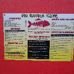 outside posted menu...specials inside