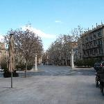  La Rambla, a 5 minutos del hotel.