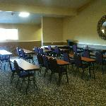 Upstairs Party / Business room (holds about 35 people)