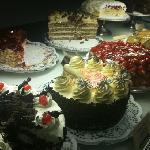 Great selection of cakes!