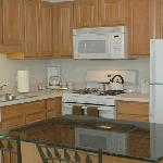  Updated appliances and granite counters are just some of the amenities.