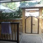 Front Villa Gate for privacy