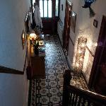  The communal hallway