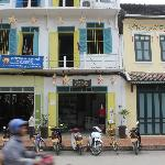 The colourful street frontage of Ock Pop Tok