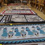 Rugs are handmade and of the highest quality