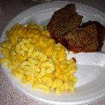 Meat Loaf with Mac & Cheese