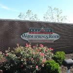 Entrance to Warm Springs Ranch