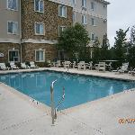 Pool and seating