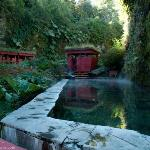 Thermal bath in Pucón..Geometrica